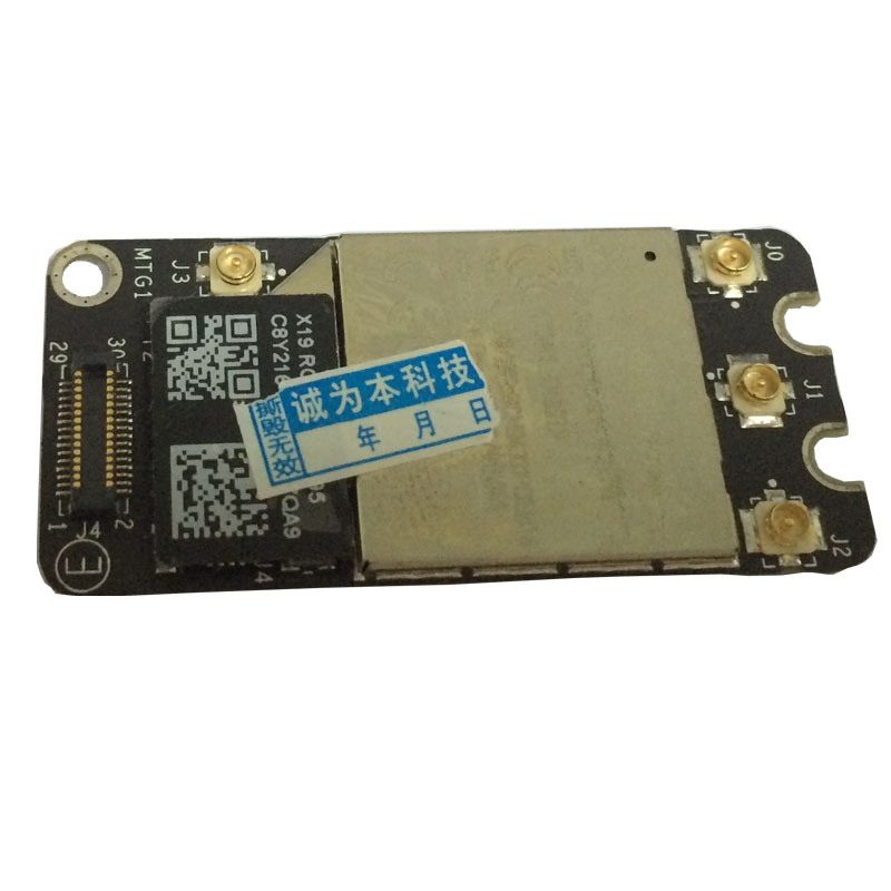 [해외]교체 용 와이파이 공항 블루투스 카드 BCM94331PCIEBT4AX, Apple MacBook Pro 용 A1278 A1286 A1297 2011-2012 년/Replacement Wifi Airport Bluetooth Card BCM94331PCIEBT4A