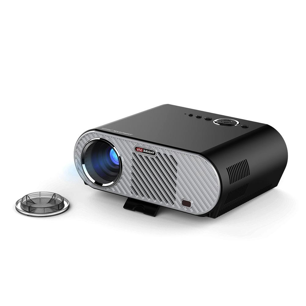 [해외]VIVIBRIGHT GP90 프로젝터 3200 루멘 프로젝터 홈 시어터 풀 HD 1080P 프로젝터 프로텍터 지원? ? ???? ?? 4.44 OS/VIVIBRIGHT GP90 Projector 3200 Lumens Projector Home Theater Fu