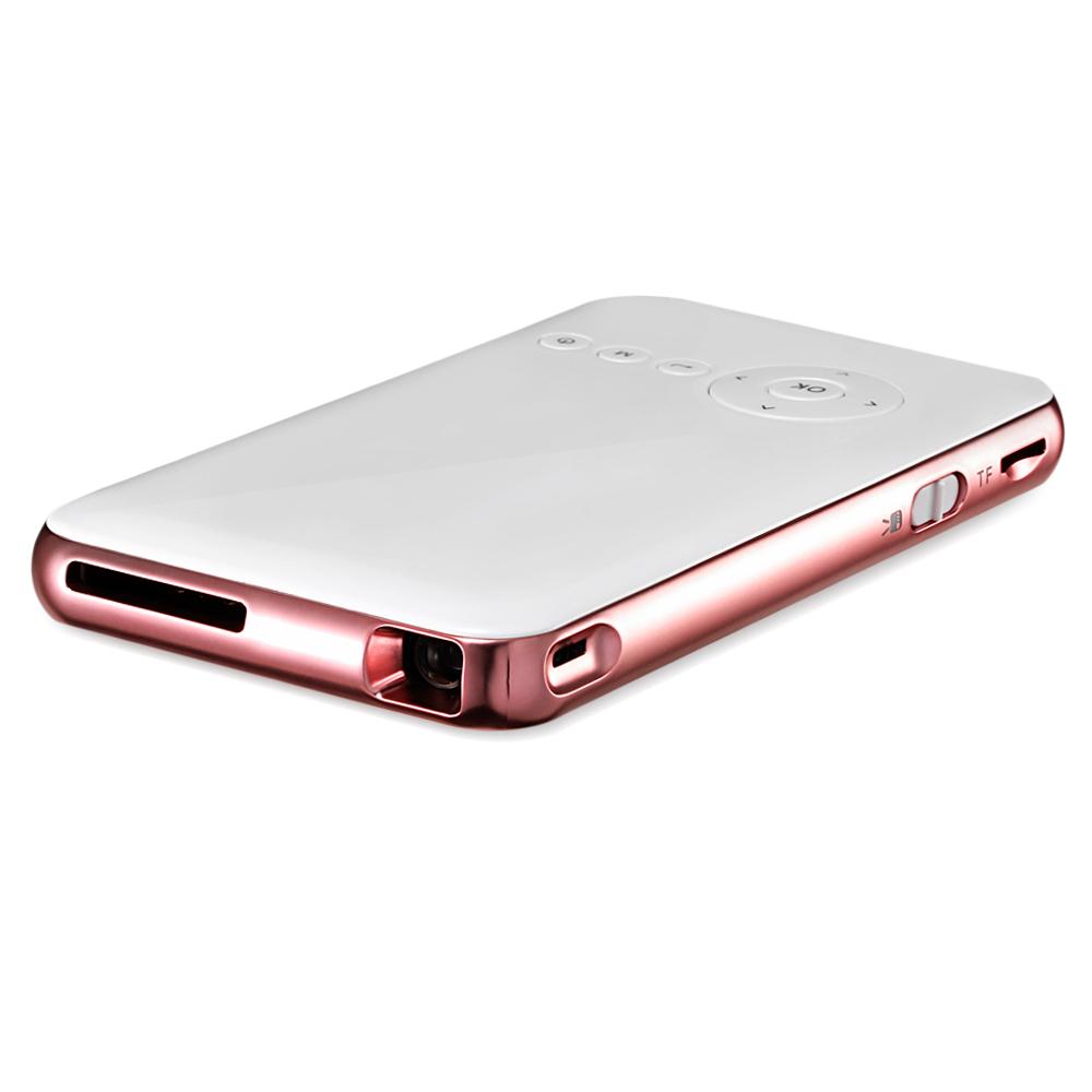[해외]D02 DLP 미니 프로젝터 8 기가 바이트 50ANSI? ? ???? ?? 4.4 프로젝터 854 x 480 블루투스 4.0 2.4G / 5G WiFi Airplay HD 미디어 플레이어 프로젝터/D02 DLP Mini Projector 8GB 50ANSI 안