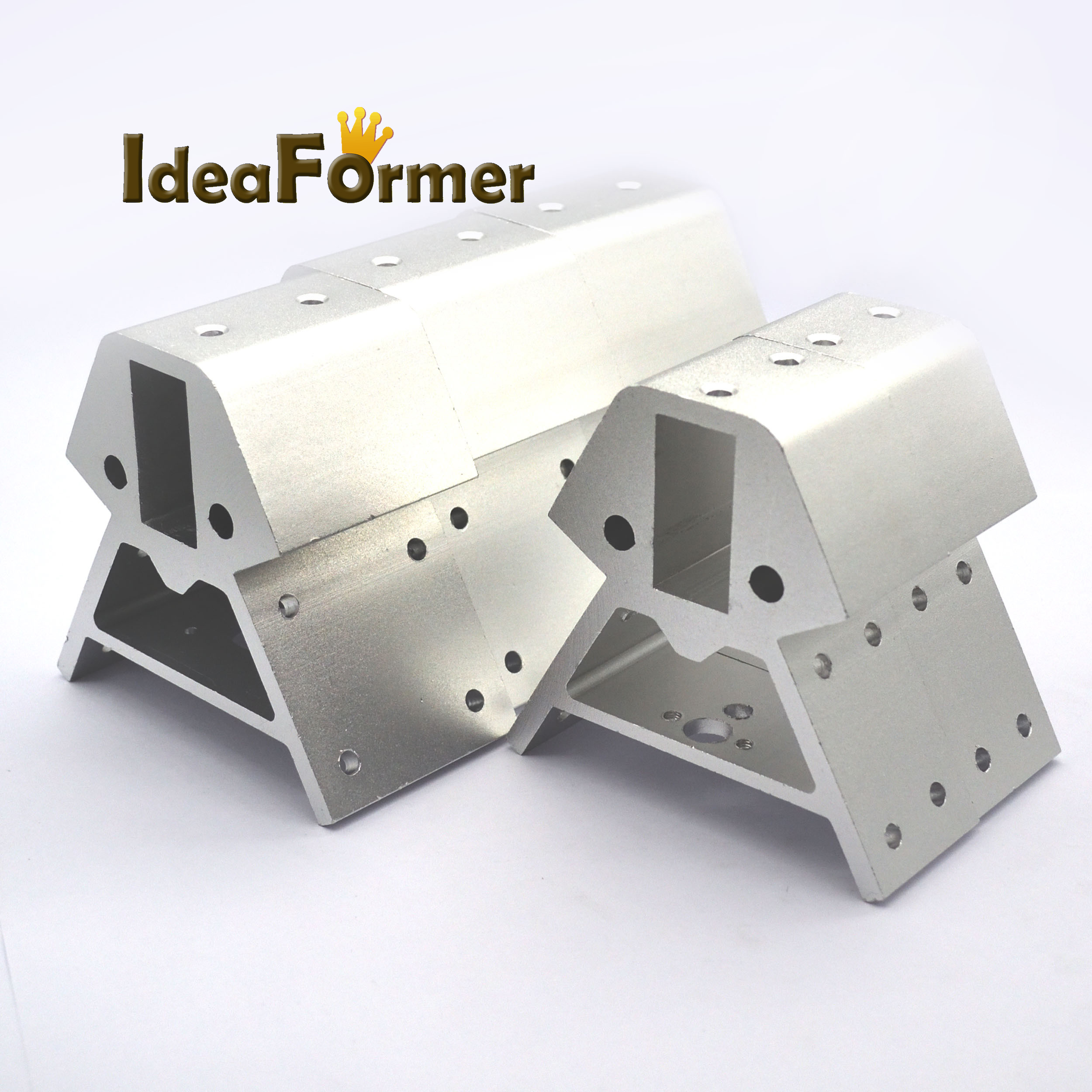 [해외]Kossel XXL 3D 프린터 부품 실버 정점 3pcs 하단 + 3pcs 상단 1 세트 고품질 2040 알루미늄 합금 코너 프로필/Kossel XXL 3D printer parts silver Vertex 3pcs bottom+3pcs top 1 set hig