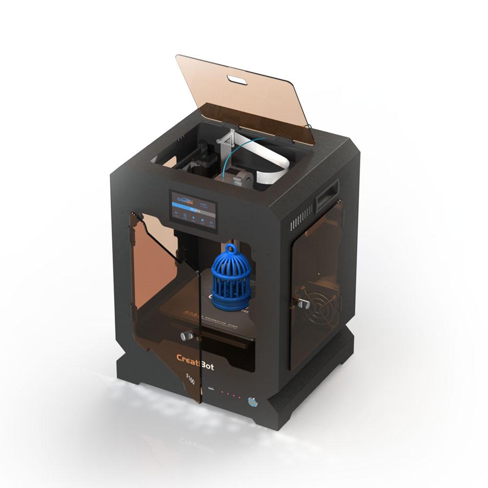 [해외]?F160 단일 압출기 160 * 160 * 200mm Creatbot 3d 프린터 금속 프레임 모든 폐쇄 가열 실 1.75mm ABS 인쇄/ F160 Single Extruder 160*160*200mm Creatbot 3d printer Metal Frame