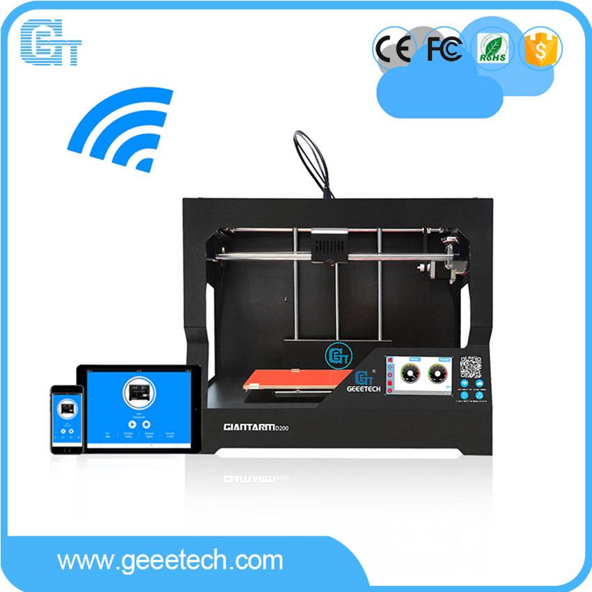 [해외]2017 최신 Geeetech GiantArm D200 FDM 3D 프린터 스마트 Wi-Fi APP 브레이크 재개 필라멘트 센서 대용량/2017 Newest Geeetech GiantArm D200 FDM 3D PrinterSmart Wi-Fi APP Break