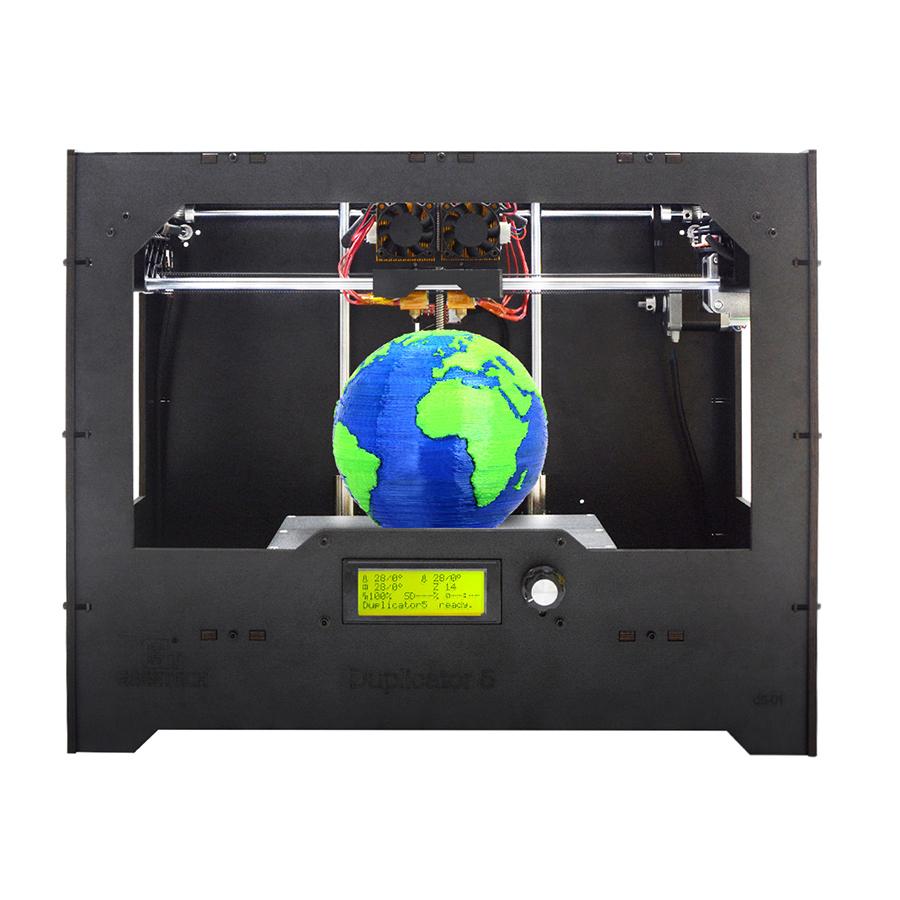 [해외]Geeetech DIY 3D 프린터 복사기 5 듀얼 압출기 Wi-Fi 모듈 클라우드 기반 Smart EasyPrint 3D APP/Geeetech DIY 3D Printer Duplicator 5 Dual ExtruderWi-Fi Module Cloud-base
