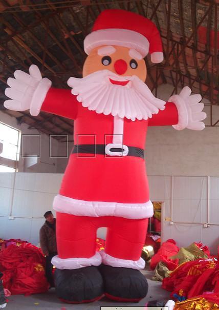 [해외]풍선 아치 풍선 모델 풍선 크리스마스 선물 산타 클로스 장식/Inflatable arch inflatable model inflatable Christmas gift Santa Claus decoration