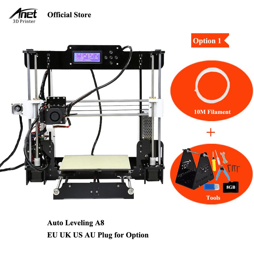 [해외]Anet A8 A6 A2 3D 프린터 키트 Repo i3 DIY 자기 조립 3D 인쇄 기계 Auto Level & amp; 일반 A8 3D 프린터 부품/Anet A8 A6 A2 3D Printer Kits Reprap i3 DIY Self Assembly