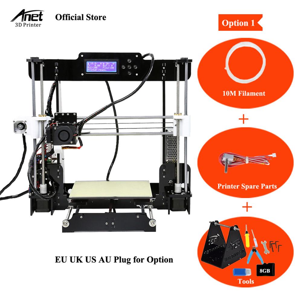 [해외]Anet A8 3D 프린터 자동 평준화 및 표준 Anet A8 3D 프린터 i3 DIY 키트 3D 프린터 키트 자동 자동 수평 조절 데스크탑/Anet A8 3D Printer Auto Leveling&Standard Anet A8 3D Printers R
