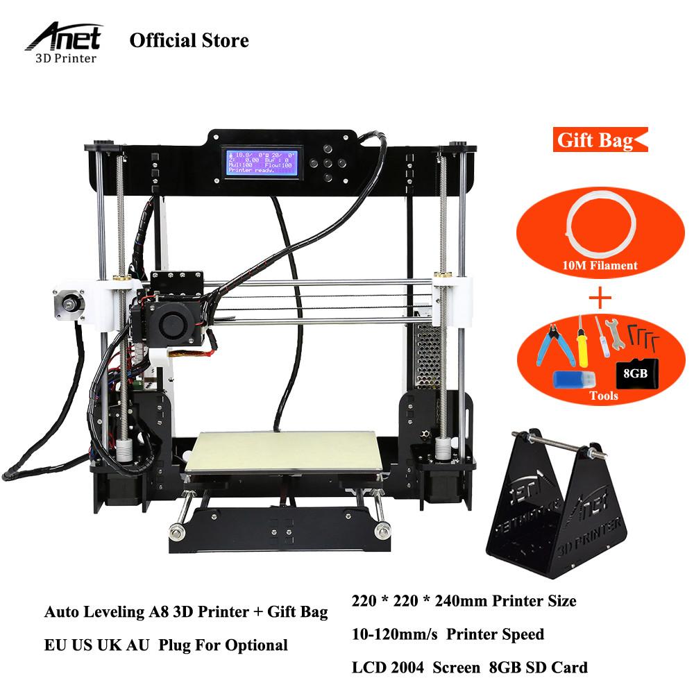 [해외]Anet A8 Anet A2 자동 레벨 & amp; 일반 3D 프린터 i3 Pritner DIY 키트 i3 키트 필라멘트 8G SD 카드 도구/Anet A8 Anet A2 Auto level & Normal 3D Printer i3 Pritner