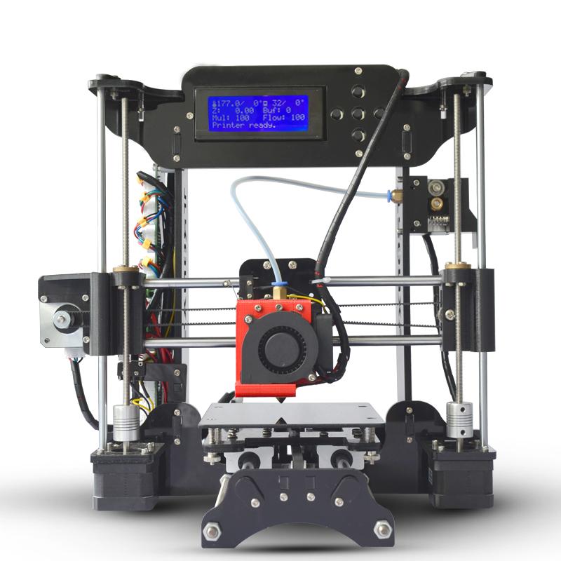 [해외]간단한 Tronxy XY100 기계 3D 프린터 고정밀 LCD 스크린 압출기 프린터 교육 어린이 DIY 키트 8G SD 카드/Simple Tronxy XY100 machine 3D Printer High Precision LCD Screen Extruder Pr