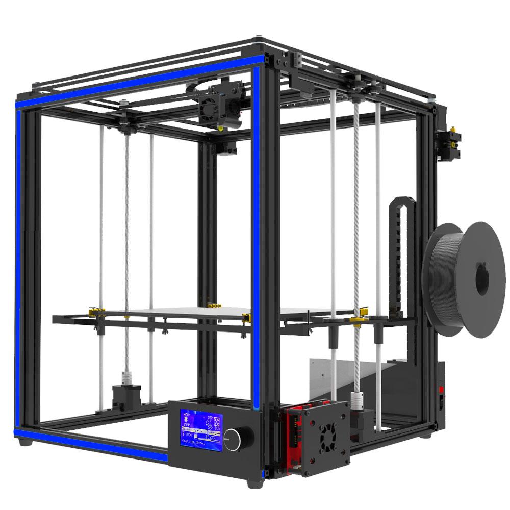 [해외]최신 큰 인쇄 크기 Tronxy X5S 3D 프린터 큰 인쇄 영역 CoreXY 시스템 알루미늄 구조 12864P LCD 8G SD 카드/Newest big print size Tronxy X5S 3D Printer Big Print Area CoreXY Syst