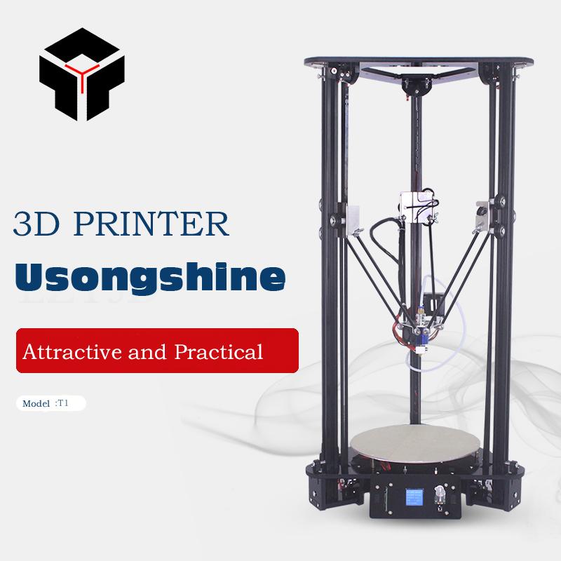 [해외]Usongshine T1 실용적인 Delta 3DPrinter 키트 지능형 타이밍 도르래 알루미늄 실용적인 Delta Desktop 3D 인상 장치 키트/Usongshine T1 Practical Delta 3DPrinter Kit Intelligent leve