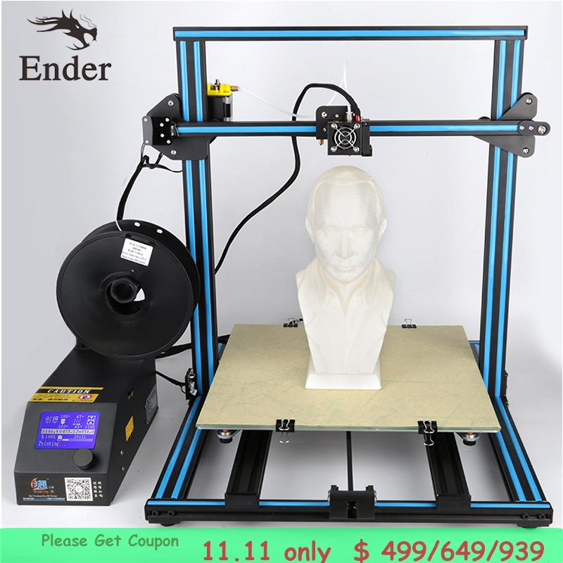 [해외]2017 핫 세일 3D 프린터 CR-10S 큰 인쇄 크기 3D 프린터 KIT DIY200g 필라멘트, LCD, SD 카드, 선물로 도구 Creality 3D/2017 Hot sale3D printer CR-10S large print size 3D Printer