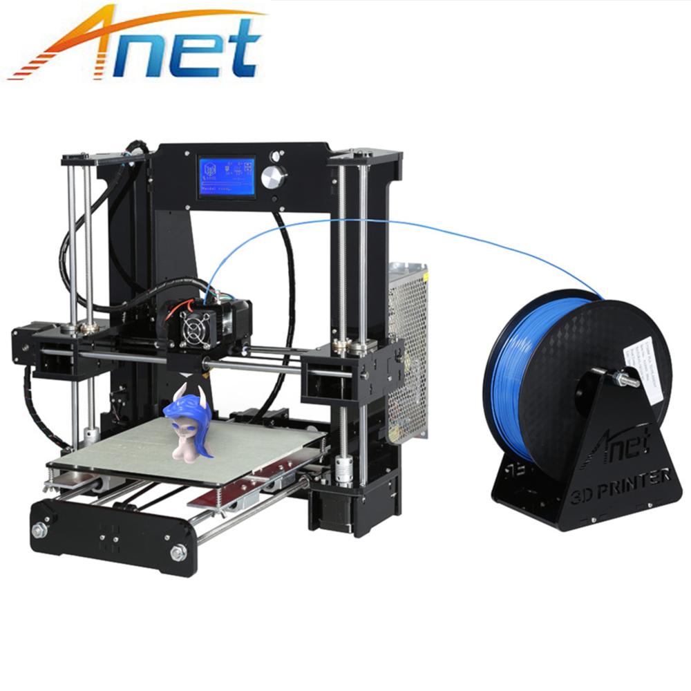 [해외]Anet A8 A6 3D 프린터 큰 크기 쉬운 조립 자동 레벨 A8 일반 Reprap i3 DIY 3D 프린터 KitFilament 8GB SD 카드/Anet A8 A6 3D Printer Large Size Easy Assemble Auto Level A8 N