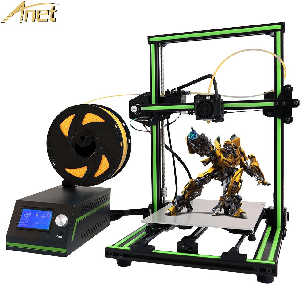 [해외]최신 Anet E10 impresora 3D 데스크탑 3D 프린터 키트 DIY 간편한 조립 Reprap i3 Printer12864LCD 무료 10m PLA / ABS 필라멘트/Newest Anet E10 impresora 3d Desktop 3D Printer