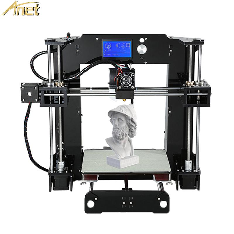 [해외]뜨거운 Anet A8 A6 프린터 impressora 3d의 3d 프린터 복제 DIY 쉬운 어셈블리 전체 아크릴 프레임 대형 인쇄 크기 /Hot Anet A8 A6 Printer impressora 3d Reprap 3d printer DIY Easy Assem