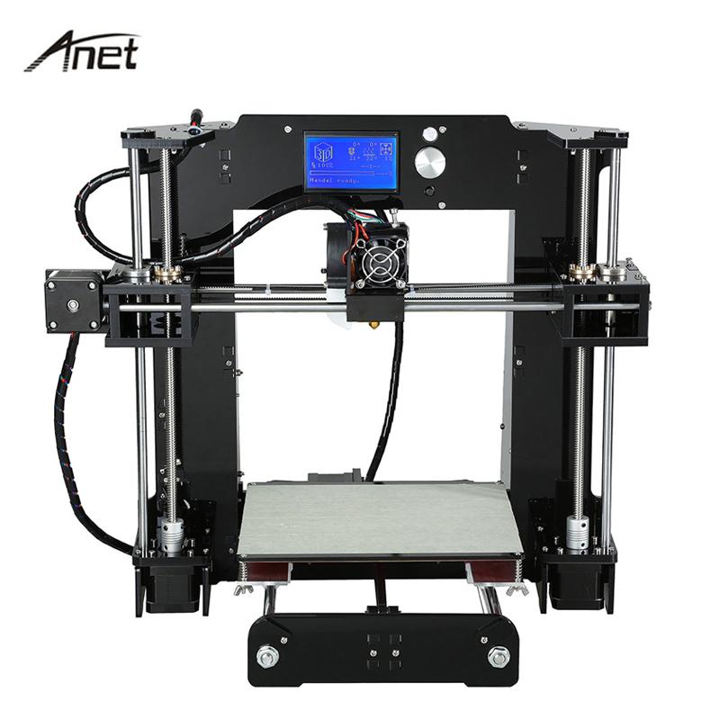 [해외]원래 Anet A6 3D 프린터 완구 DIY 키트 다국어 고정밀 대형 빌드 SizeFilament 16G SD 카드 빌드 도구/Original Anet A6 3D Printer Toys DIY Kit Multi-language High Precision Larg