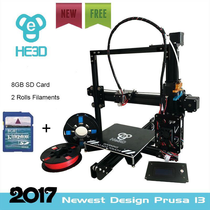 [해외]높은 정밀도 HE3D reprap 자동 수준 EI3 DIY 3D 프린터 전체 금속 압출기 큰 인쇄 크기 난방 침대 110도/High precision HE3D reprap auto level EI3 DIY 3D printer full metal extruder