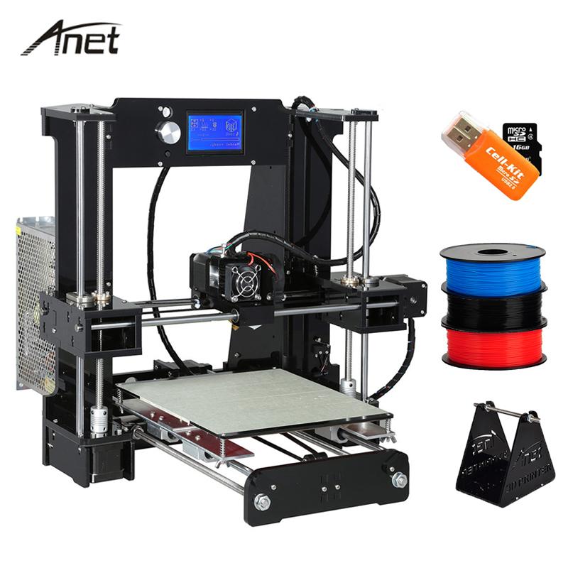 [해외]쉬운 조립 Anet A6 데스크탑 큰 크기 DIY 3D 프린터 키트 알루미늄 Hotbed 0.4 mm 노즐 선물 필 라 멘 트 16 기가 바이트 SD 카드 빌드 도구/Easy Assemble Anet A6 Desktop Big Size DIY 3D Printer