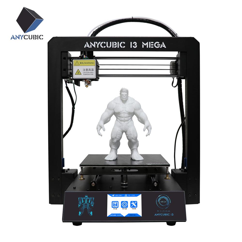[해외]2017 최신 Anycubic 3D 프린터 I3 메가 풀 메탈 터치 스크린 LCD 3D 프린팅 High-Precisio 1kg Filament & amp; 선물로 8G SD 카드/2017 Newest Anycubic 3D printer I3 Mega fu