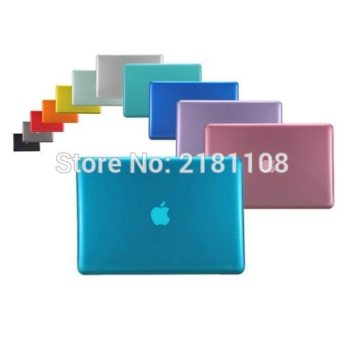 [해외]맥북 화이트 13 A1342를새로운 플라스틱 크리스탈 하드 케이스 커버/New Plastic Crystal Hard Case Cover for Macbook White 13&A1342