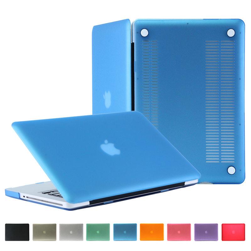 [해외]새로운 매트 Rubberized 젖빛 케이스 맥북 프로 13 들어 Retina 블루 cover13.3 인치 키보드 프로텍터 사과 맥 도서/New Matte Rubberized Frosted Case For Macbook Pro 13 no Retina blue c