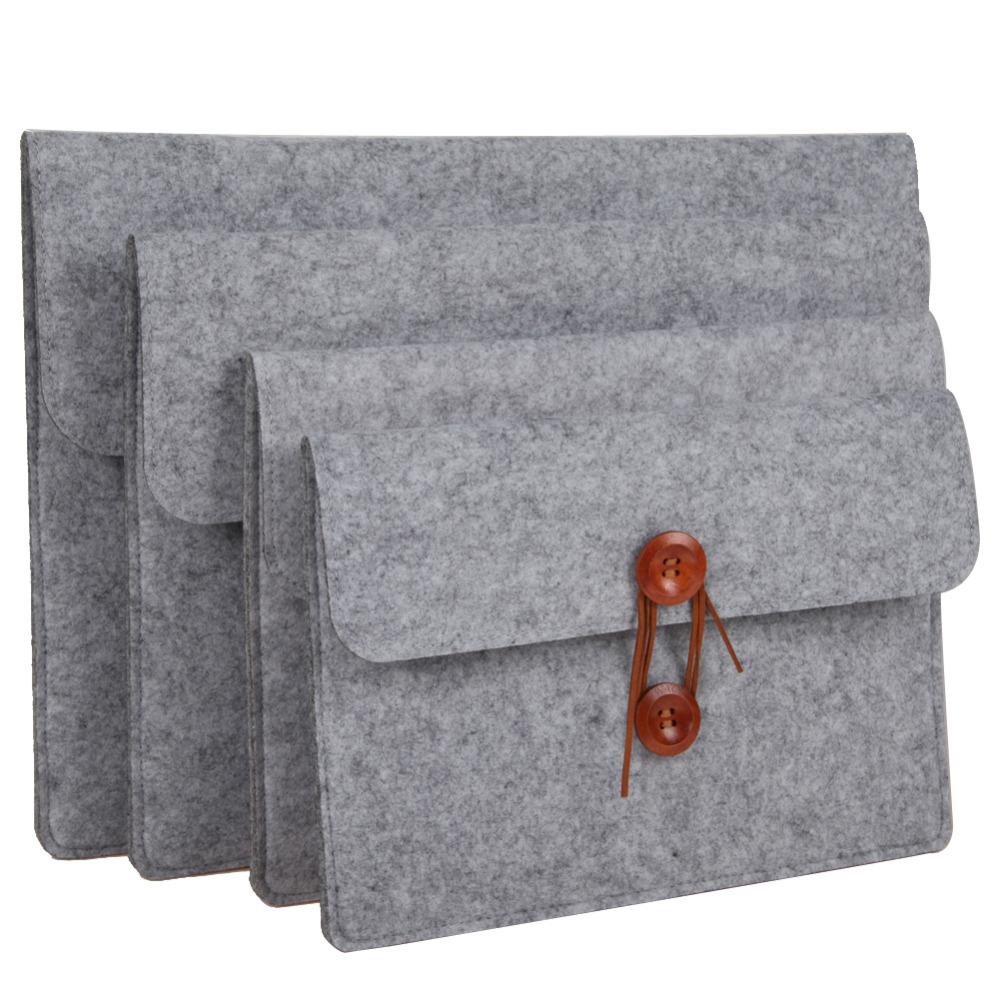 [해외]10 & 11 & 12 & 13 & 14 & 15 & 슬리브 케이스 우쿨 펠트 안쪽 노트북 노트북 슬리브 가방 케이스 운반 가방 iPad 맥북 프로 / 공기/10&11&12&13&14&15& Sleeve Case Bag