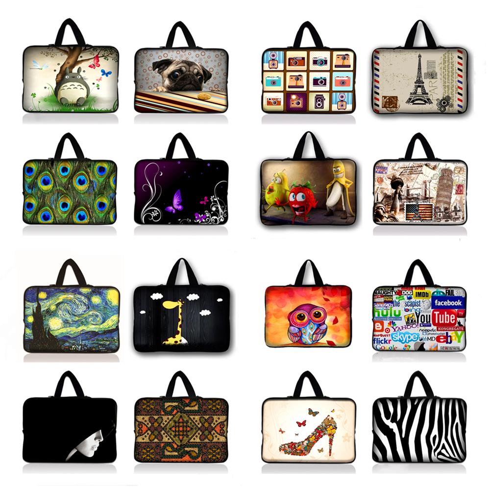 [해외]7 10 12 13 15.6 14 17 네오프렌 노트북 가방 슬리브 파우치 백 노트북 컴퓨터 백 13.3 15.4 15.6 17.3 Macbook Air / Pro/7 10 12 13 15.6 14 17 Neoprene Laptop Bag Sleeve Pouch