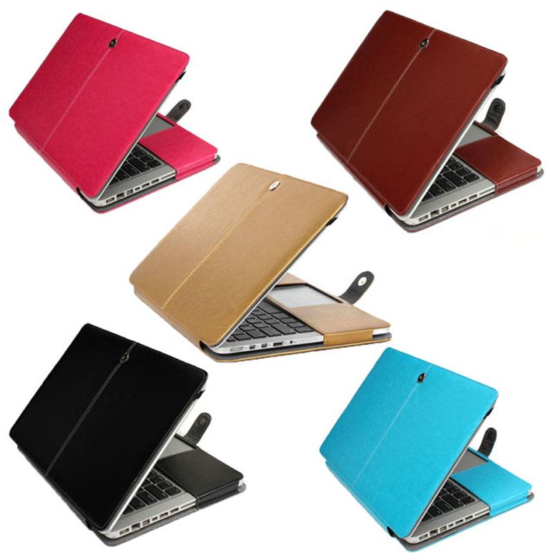 [해외]PU 가죽 노트북 케이스 애플 맥북 프로 공기 레티나 11 12 13 15 인치 노트북 커버 가방 맥북 13.3 A1278 A1502 A1425/PU Leather Laptop Case For Apple Macbook Pro Air Retina 11 12 13