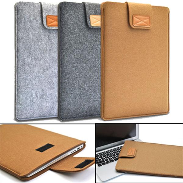 [해외]부드러운 슬리브 펠트 가방 커버 커버 11inch / 13inch / 15inch Macbook Air Pro Retina 울트라 북 노트북 타블렛 안티 스크래치/Soft Sleeve Felt Bag Case Cover Anti-scratch for 11inch