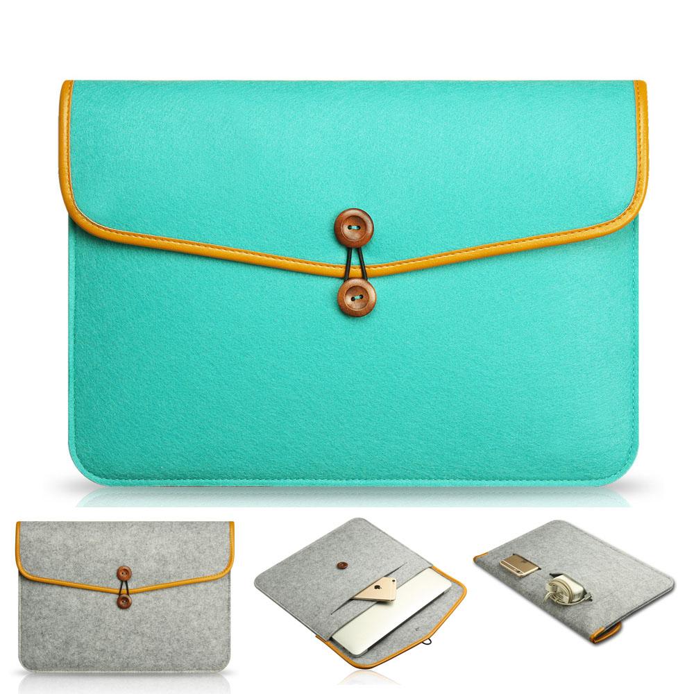 [해외] 가죽 빈티지 봉투 11.6 12.5 13.3 15.6 인치 맥북 에어 프로 레티 나 커버 케이스 핑크 가방 노트북 슬리브 케이스/Genuine Leather Vintage Envelope 11.6 12.5 13.3 15.6 inch Laptop Sleeve c