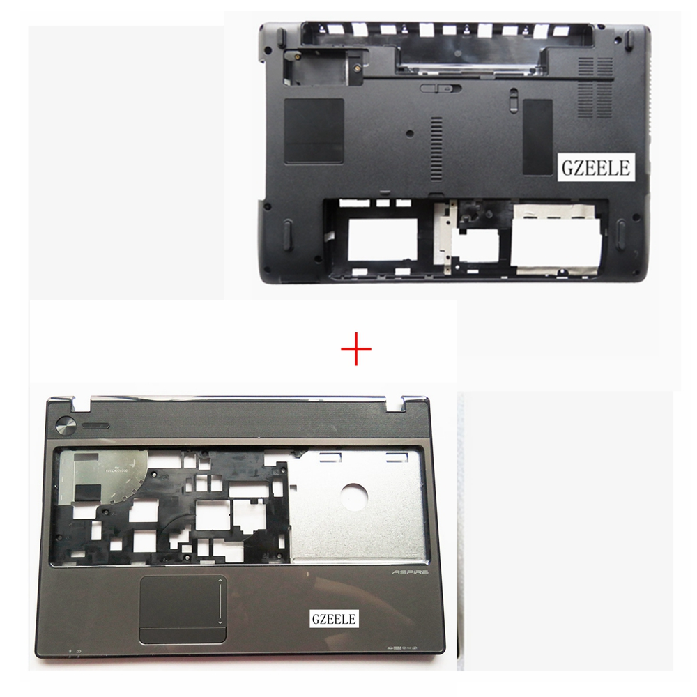 [해외]Acer Aspire 5551 5551G 5251 5741z 5741ZG 5741 5741G 5742G를노트북 밑면베이스 케이스 커버 및 손목 받침대 상단 케이스 커버/NEW Laptop Bottom Base Case Cover&Palmrest upper