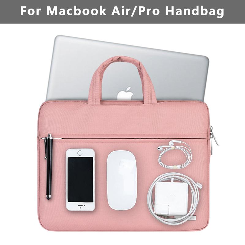 [해외]맥북 케이스 에어 13 프로 13 레티나 가방 여성 남성 솔리드 12 13.3 15.4 인치 맥북 에어 13 케이스 커버를새로운 방수 노트북 가방/New Waterproof Laptop Bag for Macbook Case Air 13 Pro 13 Retina