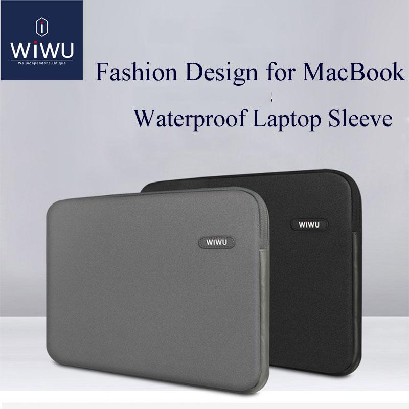 [해외]WIWU 노트북 가방 케이스 13.3 14.1 MacBook Pro 13 2016 용 MacBook Air 13 케이스 노트북 슬리브 용 15.4 인치 방수 노트북 가방/WIWU Laptop Bag Case 13.3 14.1 15.4 inch Waterproof