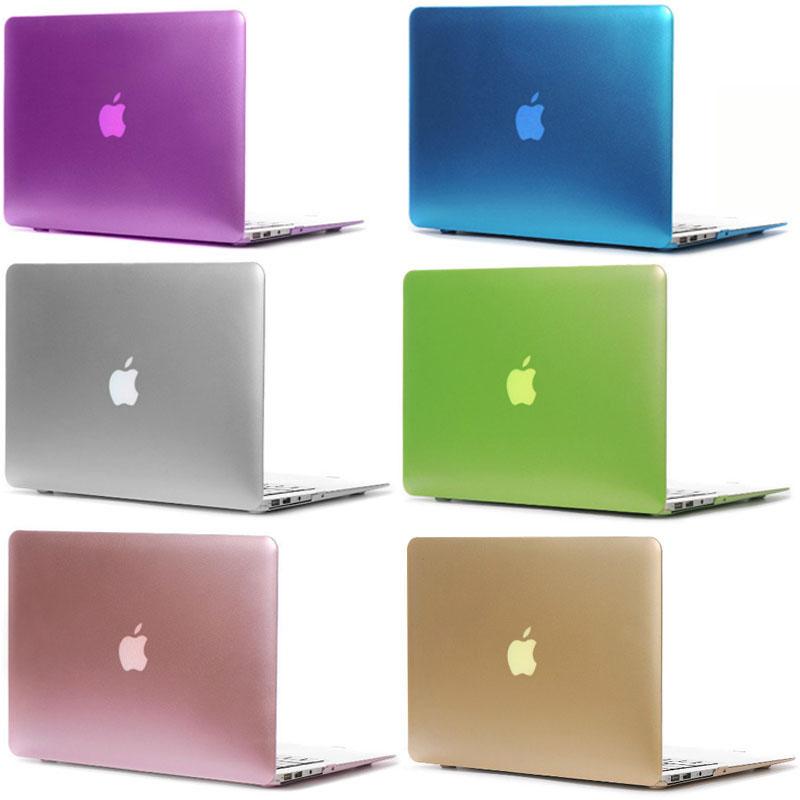 [해외]최신 금속 색상 Macbook Air Retina Pro 11 12 13 Macbook Pro Air 13 15 인치 노트북 가방 케이스 용 플라스틱 무광택 케이스 커버/Newest Metal Colors Plastic Matte Case Cover for Ma