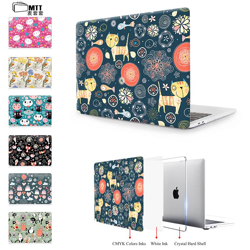[해외]Macbook Air 13에 대 한 MTT 노트북 가방 케이스 2016 맥 프로 13 프로 15 레 티 나 12 터치 바 인쇄 새끼 고양이 조류 곰 그림/MTT Laptop bag Case For Macbook Air 13 For 2016 Mac Pro 13 P