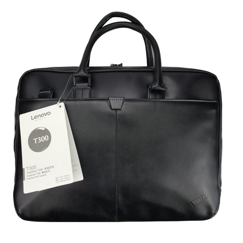 [해외]레노버 씽크 패드 노트북 가방 가죽 어깨 가방 남자와 여자는 14 인치 15.6 인치 노트북 노트북을서류 가방 T300을 핸드백/Lenovo ThinkPad Laptop Bag Leather Shoulder Bags Men and Women Handbag Bri