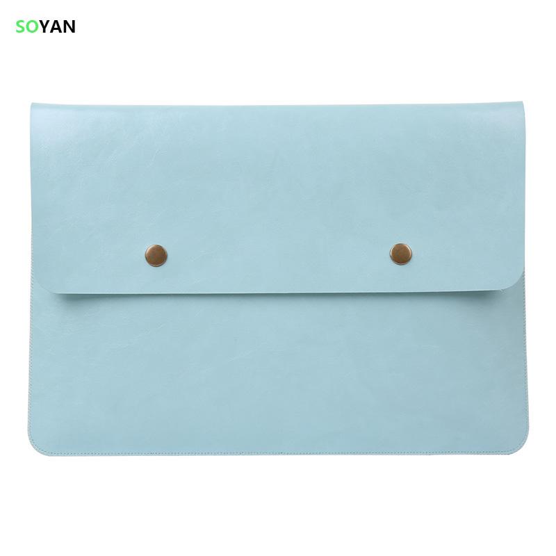 [해외]노트북 가방 PU 가죽 노트북 케이스 Apple Macbook Air Pro Retina 11 12 13 15 노트북 슬리브 Macbook Air 13 케이스 용/Laptop bag PU Leather Laptop case For Apple Macbook Air