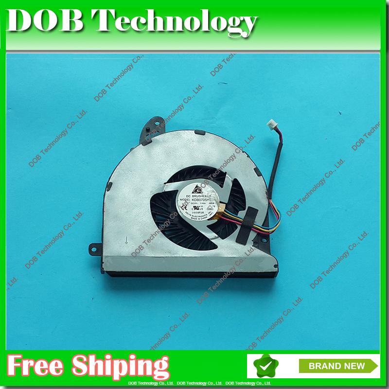 [해외]팬 KDB0705HB BB38 냉각 ASUS U46E U46S U46SV U46E- BAL6 BAL5 BAL7의 CPU의 경우 냉각 팬  DC의 5V의 0.4A/Free shipping DC 5V 0.4A Cooling Fan For ASUS U46E U46S