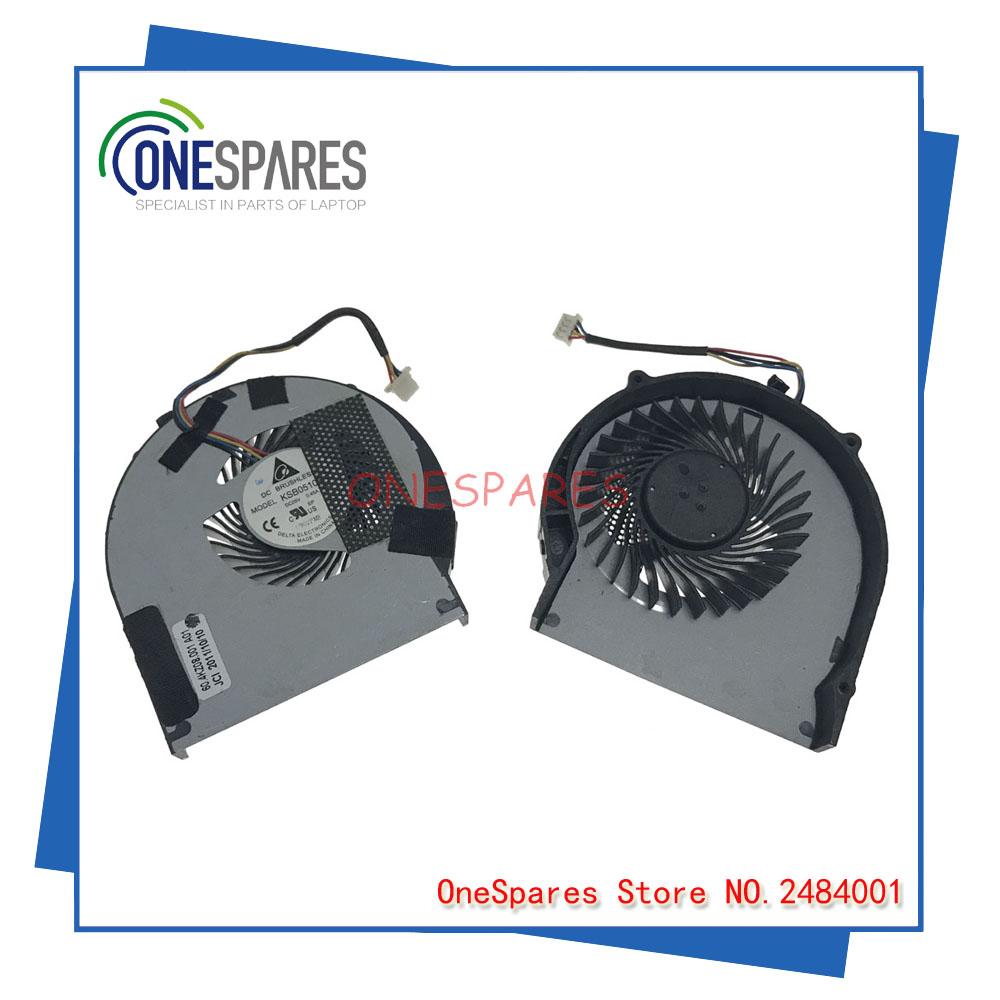 [해외]레노버 V480C V480CA V480S V580C 냉각을기존 노트북 노트북 CPU 쿨러 팬 MF60090V1 - C480 - S99/Original Laptop Laptop CPU Cooler Fan For Lenovo V480C V480CA V480S V58