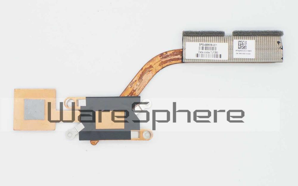[해외]HP Envy Spectre XT 13-2000 용 새 방열판 689938-001 AT0Q400020C0/New Heatsink for HP Envy Spectre XT 13-2000 689938-001 AT0Q400020C0