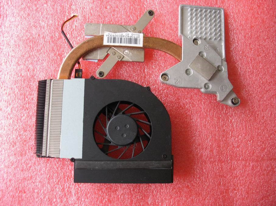 [해외]새로운 원본 HP Compaq CQ61 G61 CPU 냉각 팬의 경우 534684-001 534685-001/New original  For HP Compaq CQ61 G61 CPU Cooling FanHeatsink 534684-001 534685-001