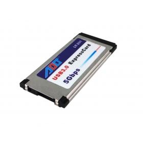 [해외]노트북 노트북 용 USB 3.0 AdapterPower에 50PCS 하나의 포트 익스프레스 카드 34mm, 페덱스으로 /50pcs one port Express Card 34mm to USB 3.0 AdapterPower for laptop notebook ,