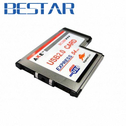[해외]USB 2.0 USB2.0 2 포트 익스프레스 익스프레스 34mm의 L 모양 유형의 latop 노트북 어댑터 삽입 유형/USB 2.0 USB2.0 2 Ports Expresscard Express 34mm L shape type Latop Notebook Ada