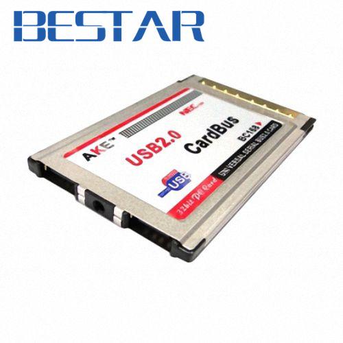 [해외]NEC 칩 유형을 삽입하기USB2.0의 USB 2.0 2 포트 PCMCIA PC 카드 버스 54mm 54mm의 latop 노트북/USB2.0 USB 2.0 2 Ports PCMCIA PC CardBus 54mm 54 mm Latop Notebook for NEC