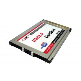 [해외]2 포트 USB 2.0 USB2.0 PCMCIA의 PC 카드 버스 노트북 노트북 도킹 스테이션 노트북 노트북 54mm VIA 칩 어댑터 삽입/2 Ports USB 2.0 usb2.0 PCMCIA PC CardBus Notebook Laptop docking st