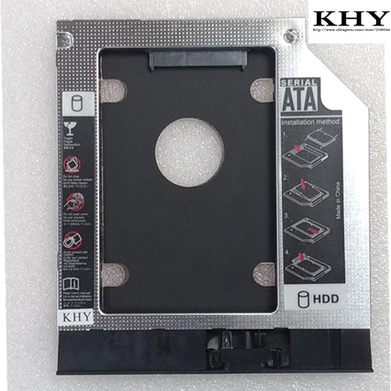 [해외]Lenovo V110-15 V3300-15 V310-15 V310-15ISK 용 새로운 2 차 HDD 캐디 9.0mm 2.5 및 SATA 3.0 SSD/New 2nd HDD Caddy 9.0mm 2.5& SATA 3.0 SSD for Lenovo V110-15