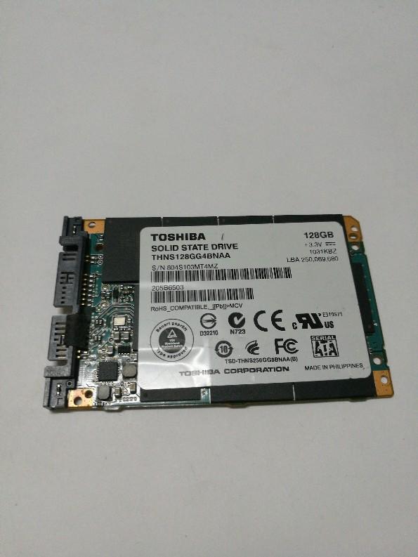 [해외]원래 THNS128GG4BNAA 128 기가 바이트 1.8 SATA2 내부 솔리드 스테이트 드라이브 SSD 마이크로 SATA SSD 테스트 좋은/Original THNS128GG4BNAA 128GB 1.8 SATA2 Internal Solid State Driv