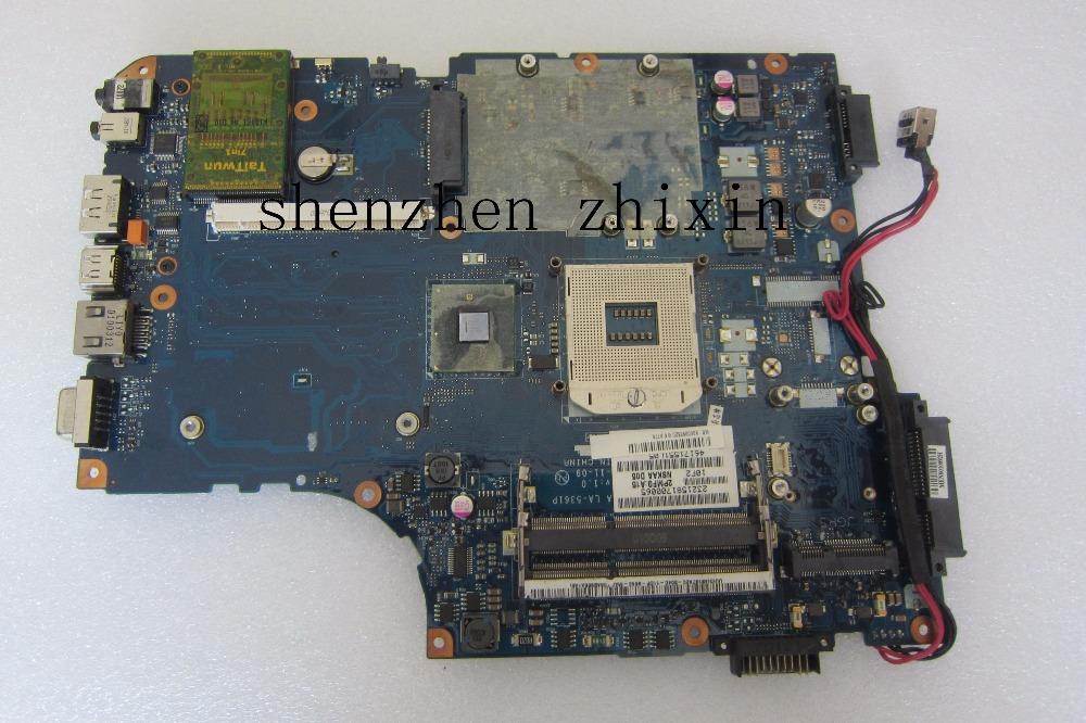 [해외]도시바 L500 A500 NSKAA LA - 5361P K000093520 그래픽 슬롯 hm55 전체 테스트를노트북 마더 보드/The laptop motherboard for Toshiba L500 A500 NSKAA LA-5361P K000093520graph