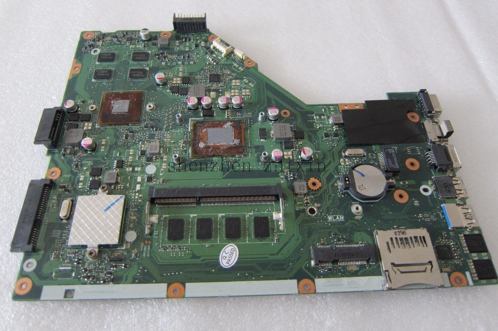 [해외]ASUS X55VD 노트북 마더 보드 REV.3.1 GT610M I3 프로세서 4G RAM 전체 테스트/For ASUS X55VD Laptop motherboard REV.3.1 GT610M I3 processor 4G RAM full test