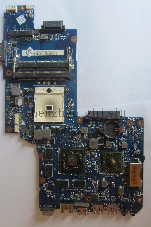 [해외]도시바 위성 L855D C855D C850D 노트북 마더 보드 H000052650 STOCKET FS1 DDR3 비 통합 그래픽 전체 테스트/For Toshiba satellite L855D C855D C850D Laptop motherboard H0000526