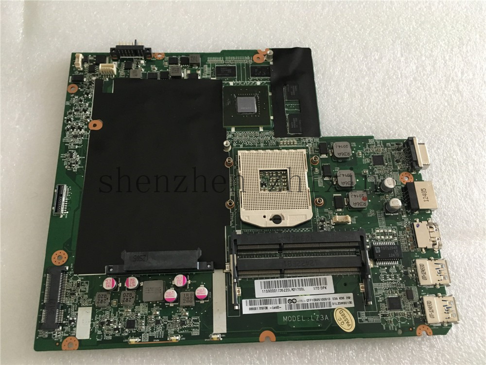 [해외]lenovo Z580 노트북 마더 보드 PGA989 HM76 DALZ3AMB8E0 DDR3 그래픽 카드 전체 테스트/For lenovo Z580 Laptopm motherboard PGA989 HM76 DALZ3AMB8E0 DDR3graphic card full